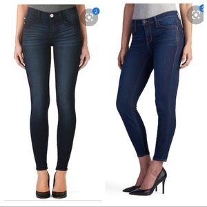 Rock & Republic Kashmiere Midrise Skinny Jeans